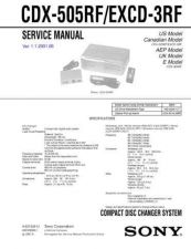 Buy Hitachi EXCD3RF Service Manual by download Mauritron #290267