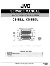 Buy JVC CS-CN100-3 Service Manual by download Mauritron #280228