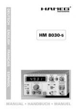 Buy Hameg HM8030_4_d_e_f_s Operating Guide in French by download Mauritron #309875