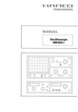 Buy Hameg HM203-7 Operating Guide by download Mauritron #307160