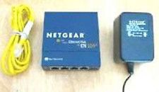 Buy EN104TP NETGEAR fast ethernet router modem switch 4 port hub 10MBPS EN 104 TP