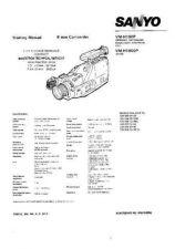 Buy SANYO. VMH100P. Training Manual. by download Mauritron #329908