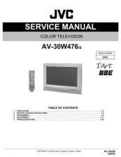 Buy JVC AV-29W33B Service Manual by download Mauritron #279890