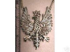 Buy Polish Eagle Pendant Sterling Silver Large