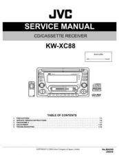 Buy JVC KW-XC88-1 Service Manual by download Mauritron #282630