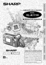 Buy Sharp VLA111 Operating by download Mauritron #329927