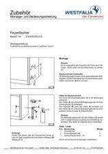 Buy Volkswagen T4 WestfaliaT4FireExtinguisherFittingiInstructionsWM by download #333865