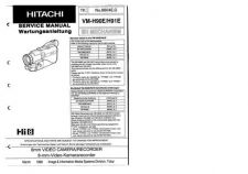 Buy Hitachi VM-E110A-2 Service Manual by download Mauritron #286809