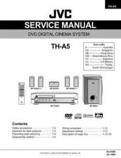 Buy JVC TH-A5UW Service Manual by download Mauritron #278251