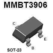 Buy SMT Transistor - MMBT3906 PNP (SOT-23) - 35 Pieces