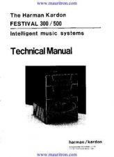 Buy HARMAN KARDON. FESTIVAL 300 Manual by download Mauritron #325831