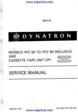 Buy Dynatron HFC58 Manual by download Mauritron #326445