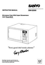 Buy Sanyo. EM-G2550 Operating by download Mauritron #326324