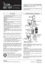 Buy Icom BC137 Option Operating Guide by download Mauritron #317239