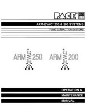 Buy Pace ARM-EVAC 250 & 200 manual by download Mauritron #314230