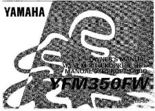Buy Yamaha 4UM-28199-60 Quad ATV Bike Manual by download #334346