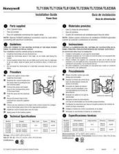 Buy Honeywell honeywell tl8230a1003install Operating Guide by download Mauritron #316834