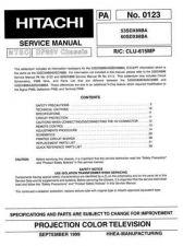 Buy Hitachi 53SDX89B Service Manual by download Mauritron #288290
