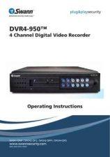 Buy Swann 1241DVR4-950 OI EN FR ESP110609 Instructions by download #336362