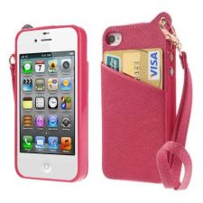 Buy Case Back Cover Shell For iPhone 4 4s Rose Color