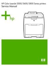 Buy Hewlett Packard HP LaserJet 3000-3600-3800 Series Service Manual by download Mauritro