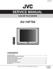 Buy JVC AV-14F704 Service Manual by download Mauritron #279483