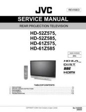 Buy JVC HD-52Z575B Service Manual by download Mauritron #281093