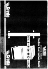 Buy Creda 48416 Operating Guide by download Mauritron #312753