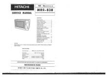 Buy Hitachi MRG-838 Service Manual by download Mauritron #285409