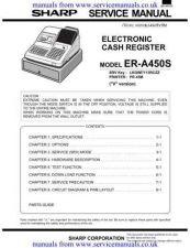 Buy MANUAL Sharp ERA450S cash register by download Mauritron #306107