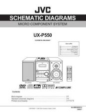 Buy JVC UX-P5 sch Service Manual by download Mauritron #284435