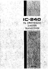 Buy Icom IC-240 by download Mauritron #329437