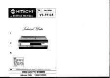 Buy Hitachi VTF382A1 Service Manual by download Mauritron #287197