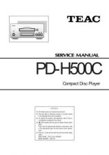 Buy Teac PDH500C Service Manual by download Mauritron #328000
