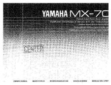 Buy Yamaha MX-0 Operating Guide by download Mauritron #315330
