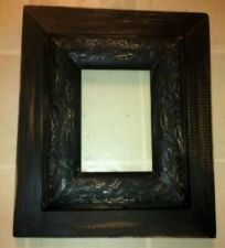 Buy Black distressed picture frame