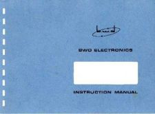 Buy BWD 504_Oscill_Inst Oscilloscope Service Manual and Operating Guide Combined by downl