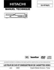 Buy Hitachi DVP315U(PX) Service Manual by download Mauritron #289875