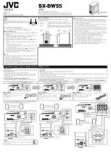 Buy JVC SX-DW55-10 Service Manual by download Mauritron #276705