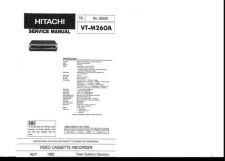Buy Hitachi VTM292A1 Service Manual by download Mauritron #287366