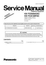 Buy Panasonic KX-TCA115EXC==-=-=-=- Manual by download Mauritron #299621