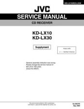 Buy JVC KD-LX10-30 Service Manual Circuits Schematics by download Mauritron #275074