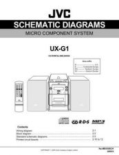 Buy JVC UX-G1-29 Service Manual by download Mauritron #284154