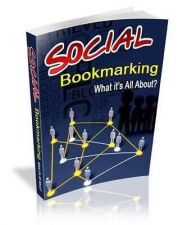 Buy EBOOK SOCIAL BOOKMARKING WITH MASTER RESELL RIGHTS SALES PAGE BONUS