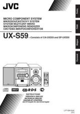 Buy JVC UX-S59-13 Service Manual by download Mauritron #284485