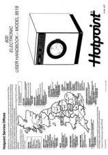 Buy Hotpoint 9519 Laundry Operating Guide by download Mauritron #313410