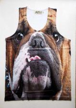 Buy Bulldog Brown Pet Dog Tank Top Vest Shirt Unisex Men Women Lovely New Freeship L