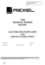 Buy Acco T300 WSM Operating Guide by download Mauritron #329135