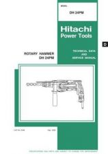 Buy Hitachi DH24PM Tool Service Manual by download Mauritron #319823