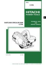 Buy Hitachi C5YA Tool Service Manual by download Mauritron #319675